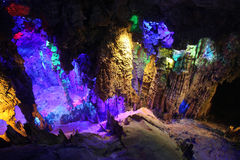 Reed Flute Caves in Guilin, Guangxi, China Stock Images