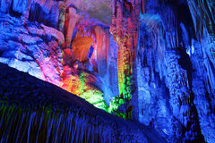 Reed Flute Caves in Guilin Stock Photos