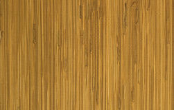 Reed mat texture. Brown japanese  reed mat texture background Stock Photography
