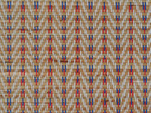 Reed mat texture, handicraft of Thai Royalty Free Stock Image