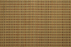 A reed mat weaves , handicraft Stock Image