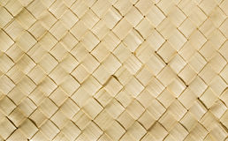 Reed texture. A texture of woven reeds Royalty Free Stock Photography
