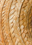 Reed weave texture Stock Photography