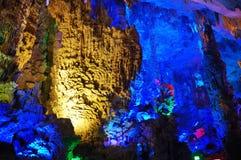 Reedflöte-Höhle stockfotografie