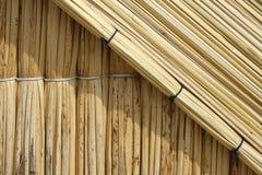 Reedhaus auf Uros Insel Lizenzfreies Stockbild