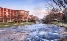 Reedy River Greenville South Carolina Stock Image