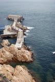 Reef coastline Stock Photography