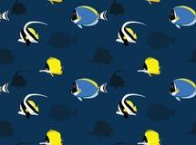 Reef Fish Wallpaper 1 Royalty Free Stock Images