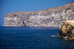 Reef. At island Gozo, Malta Stock Image