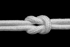Reef knot Royalty Free Stock Photography