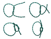 Reef knot Stock Image