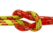 Reef knot. Isolated over white background Stock Photography