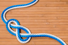 The reef knot Stock Photos