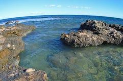A Reef - Rocky Sea Shore Stock Photography