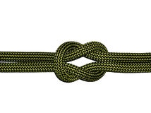 The Reef (Square) Knot Royalty Free Stock Photo