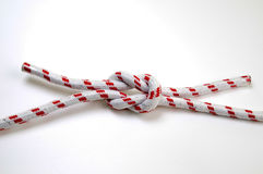 The Reef (Square) Knot Royalty Free Stock Images