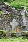 Reefert Church ruins, Glendalough, Ireland Stock Images