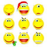 Reeks 002 van Smiley Stock Foto
