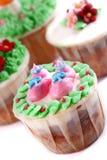 Reeks 02 van Cupcake Royalty-vrije Stock Foto