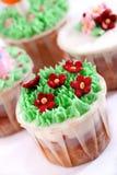 Reeks 03 van Cupcake Stock Afbeeldingen