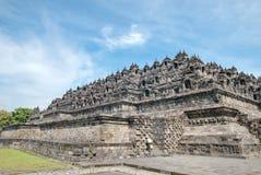 Reeks 03 van de Tempel van Borobudur stock afbeeldingen