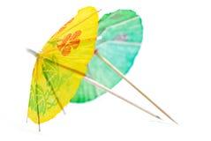 Reeks 04 van de Paraplu van de cocktail Stock Afbeelding