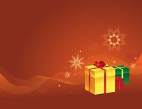 Reeks 1 van Kerstmis Royalty-vrije Stock Afbeeldingen