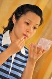 Reeks 2 van de make-up stock foto