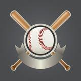 Reeks 2 van het Element van het Ontwerp van het honkbal stock illustratie