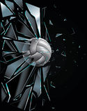 Reeks 5 van de Bal van het volleyball royalty-vrije illustratie