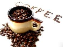 Reeks 5 van de koffie royalty-vrije stock fotografie