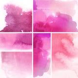 Reeks abstracte achtergronden Stock Afbeelding
