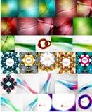 Reeks abstracte achtergronden Stock Fotografie