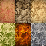 Reeks abstracte achtergronden Royalty-vrije Stock Afbeeldingen