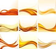Reeks abstracte achtergronden royalty-vrije illustratie