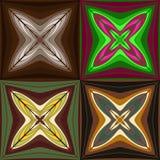 reeks abstracte patronen Royalty-vrije Stock Afbeelding