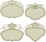 Koninklijke achtergrond Royalty-vrije Stock Afbeeldingen