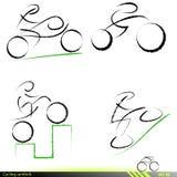 Reeks artistieke pictogrammen. Royalty-vrije Stock Afbeelding