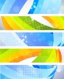 Reeks banners Royalty-vrije Stock Afbeelding