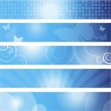 Reeks banners vector illustratie