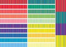 Reeks banners als element van ontwerp royalty-vrije illustratie