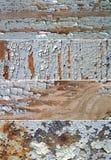 Reeks banners met textuur van de oude verf Royalty-vrije Stock Afbeeldingen