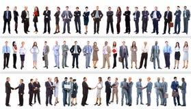 Reeks bedrijfsmensen Stock Fotografie