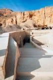 Reeks beelden van beroemde monumenten en plaatsen van Egypte Royalty-vrije Stock Foto