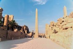 Reeks beelden van beroemde monumenten en plaatsen van Egypte Stock Fotografie