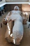 Reeks beelden van beroemde monumenten en plaatsen van Egypte Stock Foto