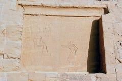 Reeks beelden van beroemde monumenten en plaatsen van Egypte Royalty-vrije Stock Afbeeldingen