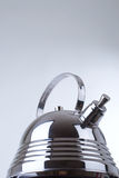 Reeks beelden van keukenwaren. Theepot Royalty-vrije Stock Foto