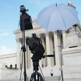 Reeks bij Hooggerechtshof royalty-vrije stock foto's