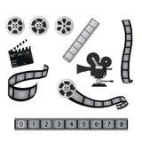 De industrie van de film/van de bioskoop Stock Afbeeldingen